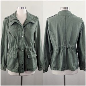 Forever 21 Army Military Utility Anorak Jacket M/L
